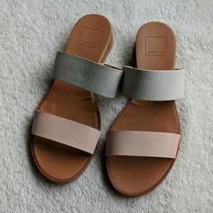 Dolce Vita Open Toe Slides